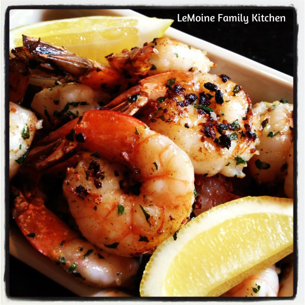 Ridiculously Simple Shrimp make for a great appetizer or dinner.