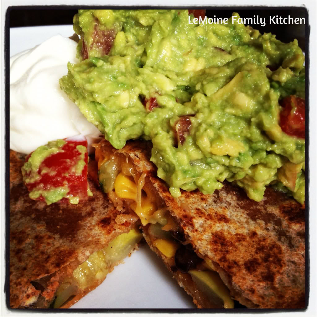 Meatless Monday :: Vegetable Quesadilla