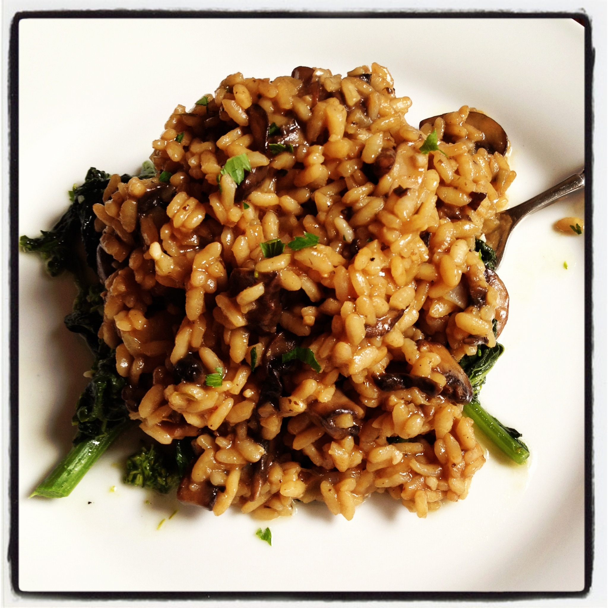 Mushroom Risotto | LeMoine Family Kitchen