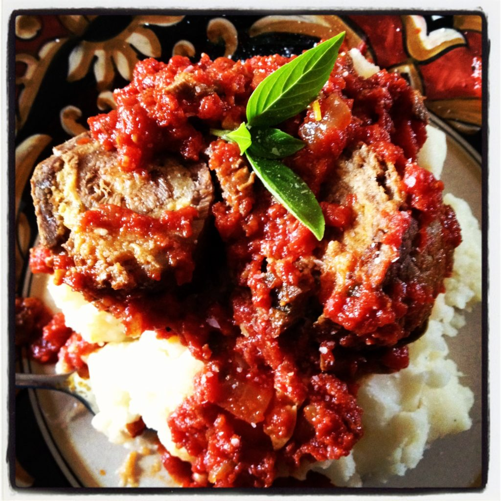 Slow Cooker Braciole & A Trip Down Memory Lane. Rustic Italian made really easy.