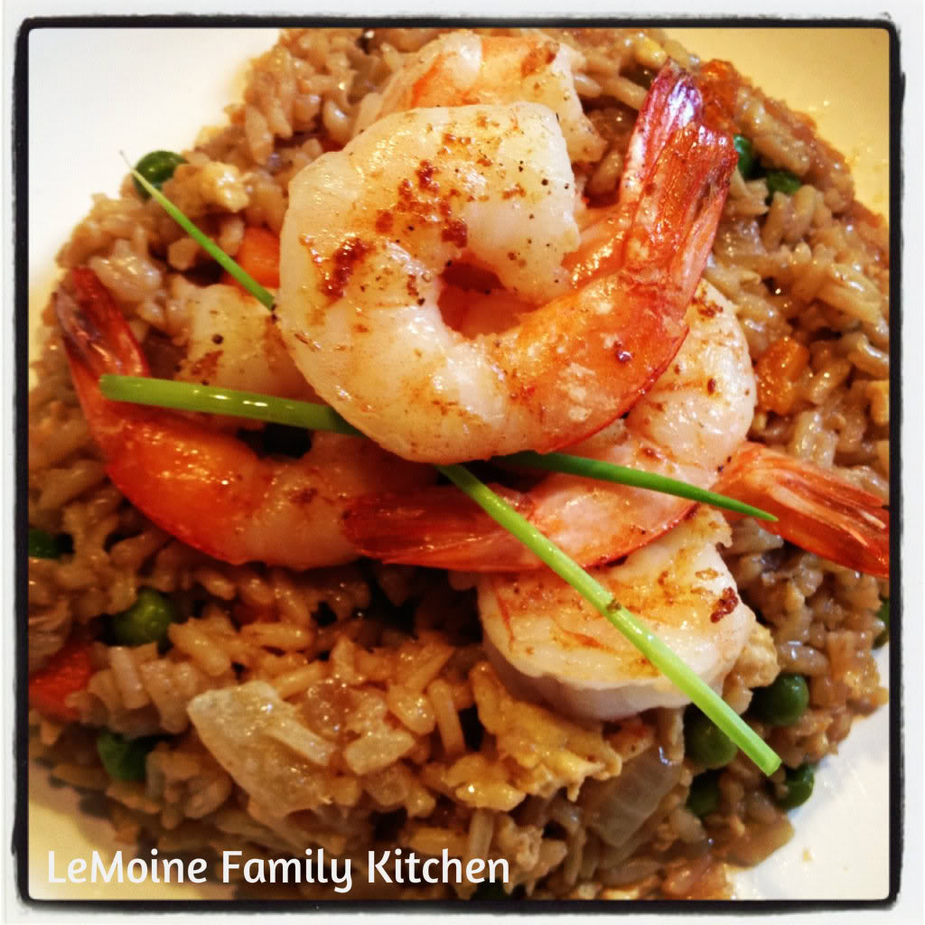 Shrimp Fried Rice | LeMoine Family Kitchen
