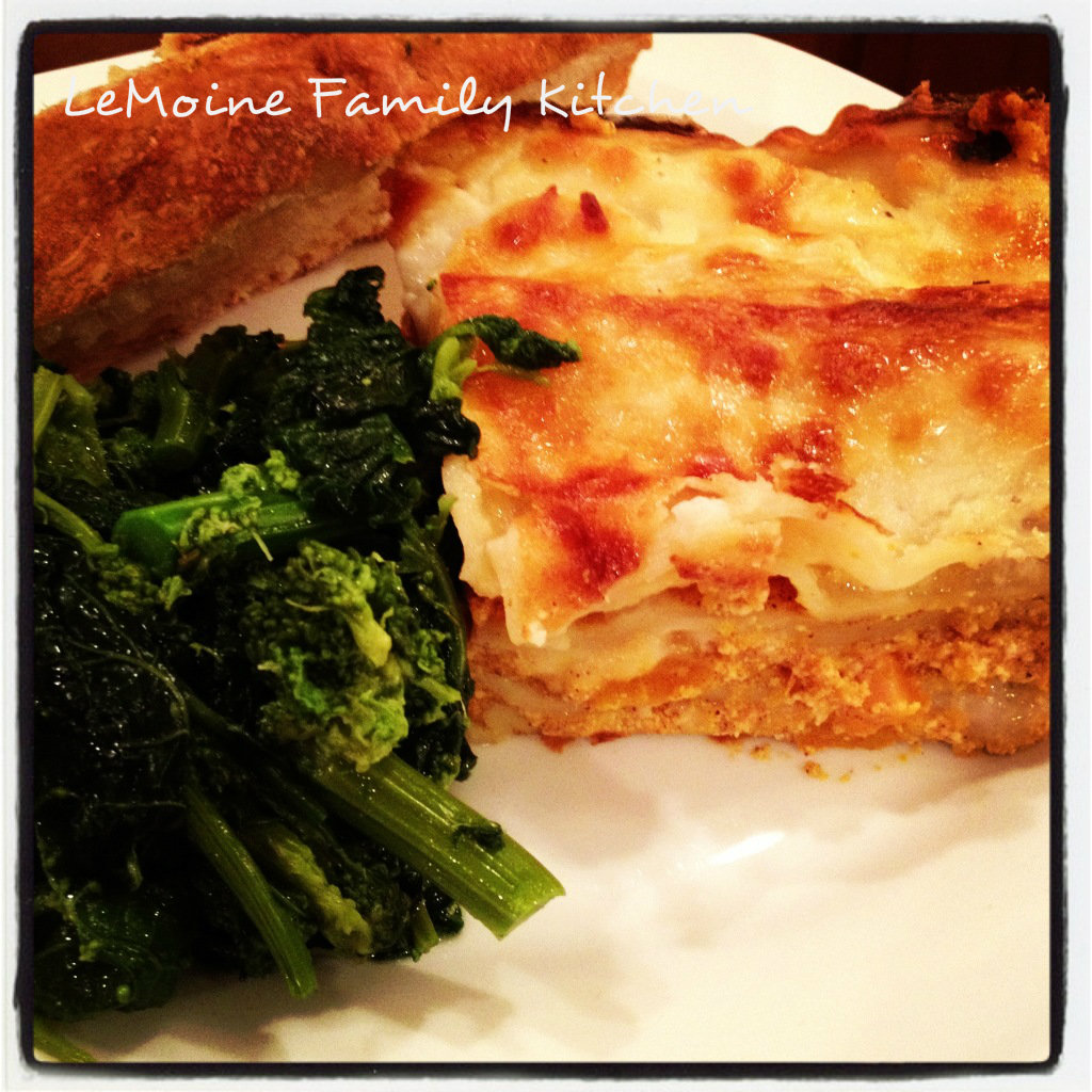 Butternut Squash Lasagna #lasagna #thanksgiving #maindish #butternutsquash #pasta