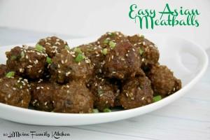 Easy Asian Meatballs | LeMoine Family Kitchen #porkmeatball #bestasianmeatball #appetizer #easyappetizer