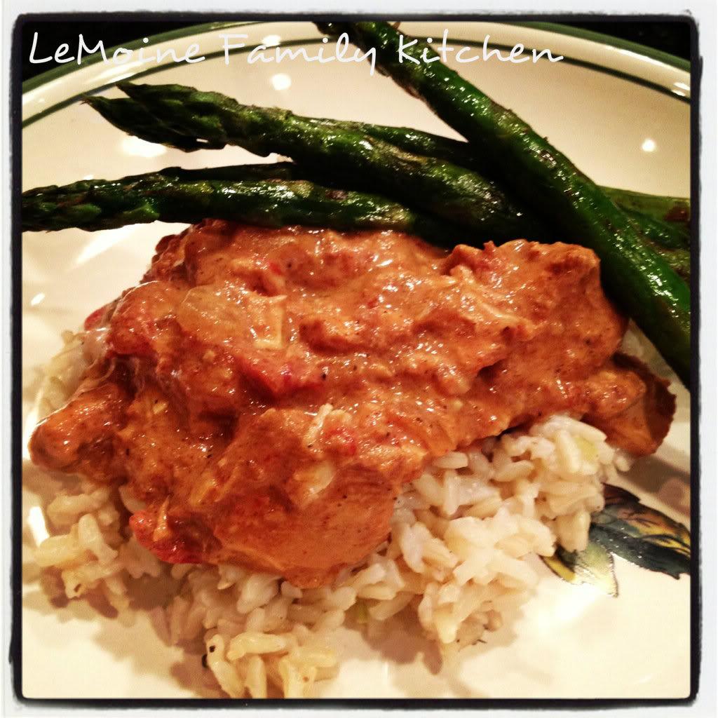 Slow Cooker Chicken Tikka Masala | LeMoine Family Kitchen #chicken #easydinner #Indian #recipe #slowcooker