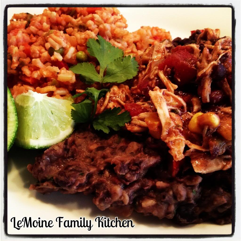 Salsa Chicken & Black Beans