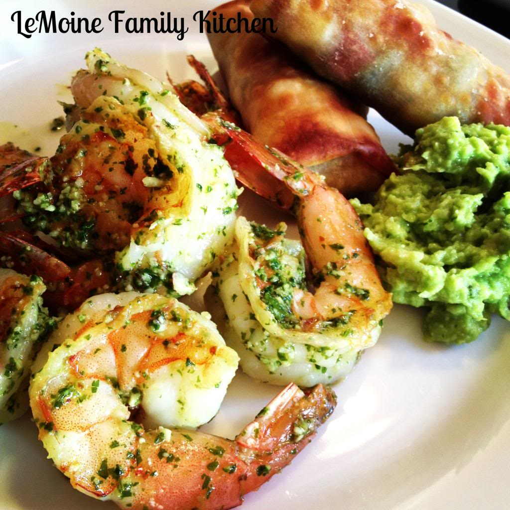 Cilantro Lime Shrimp | LeMoine Family Kitchen