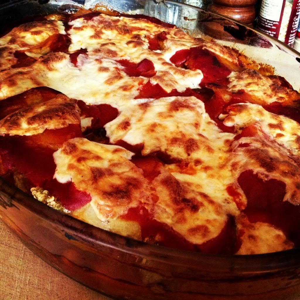 Eggplant Parmigiano {Nonnas Way}