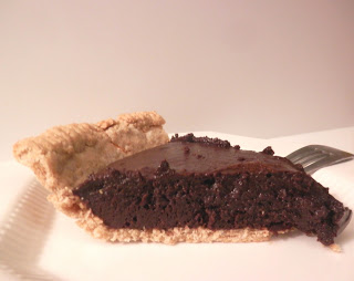 Mocha Fudge Brownie Pie in a Whole Wheat Crust :: Guest Post