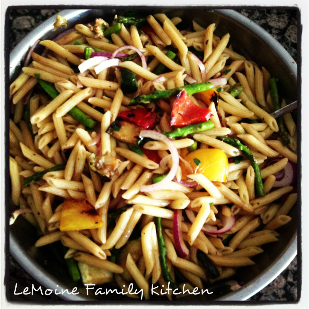 Memorial Day Weekend :: Grilled Vegetable Pasta Salad