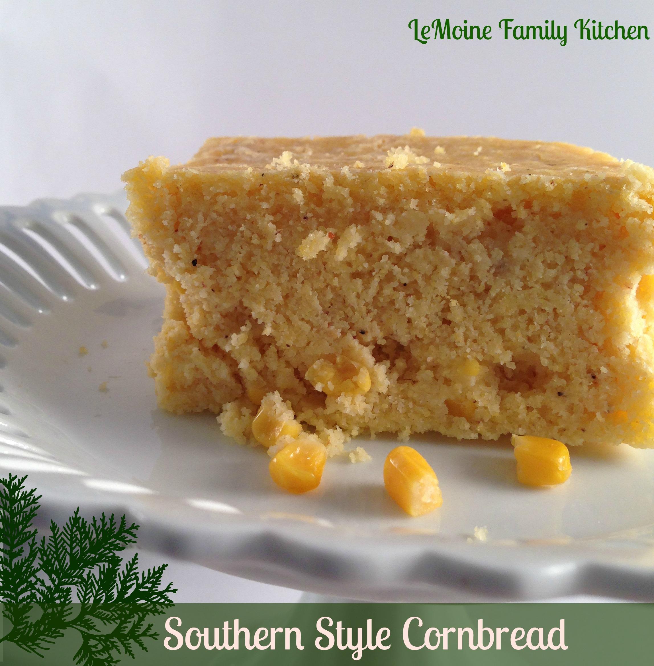 Southern Style Cornbread