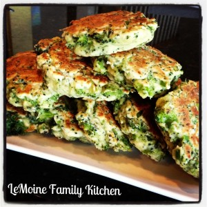 broccoli pecorino cakes