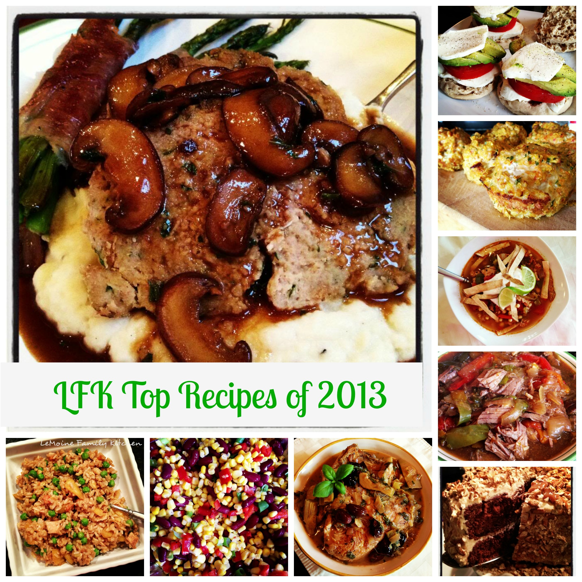 LeMoine Family Kitchen Top Recipes of 2013