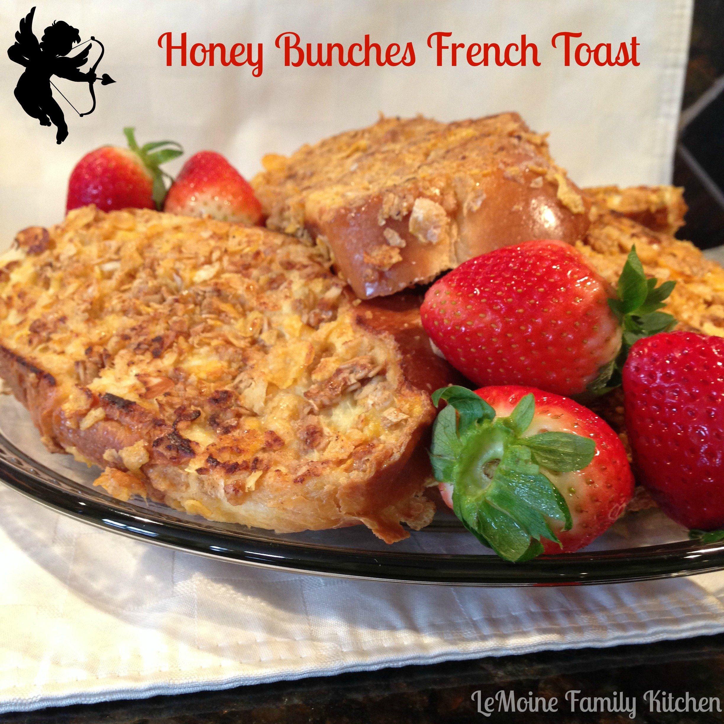 Honey Bunches French Toast & Strawberry Bellini :: Valentines Day Breakfast