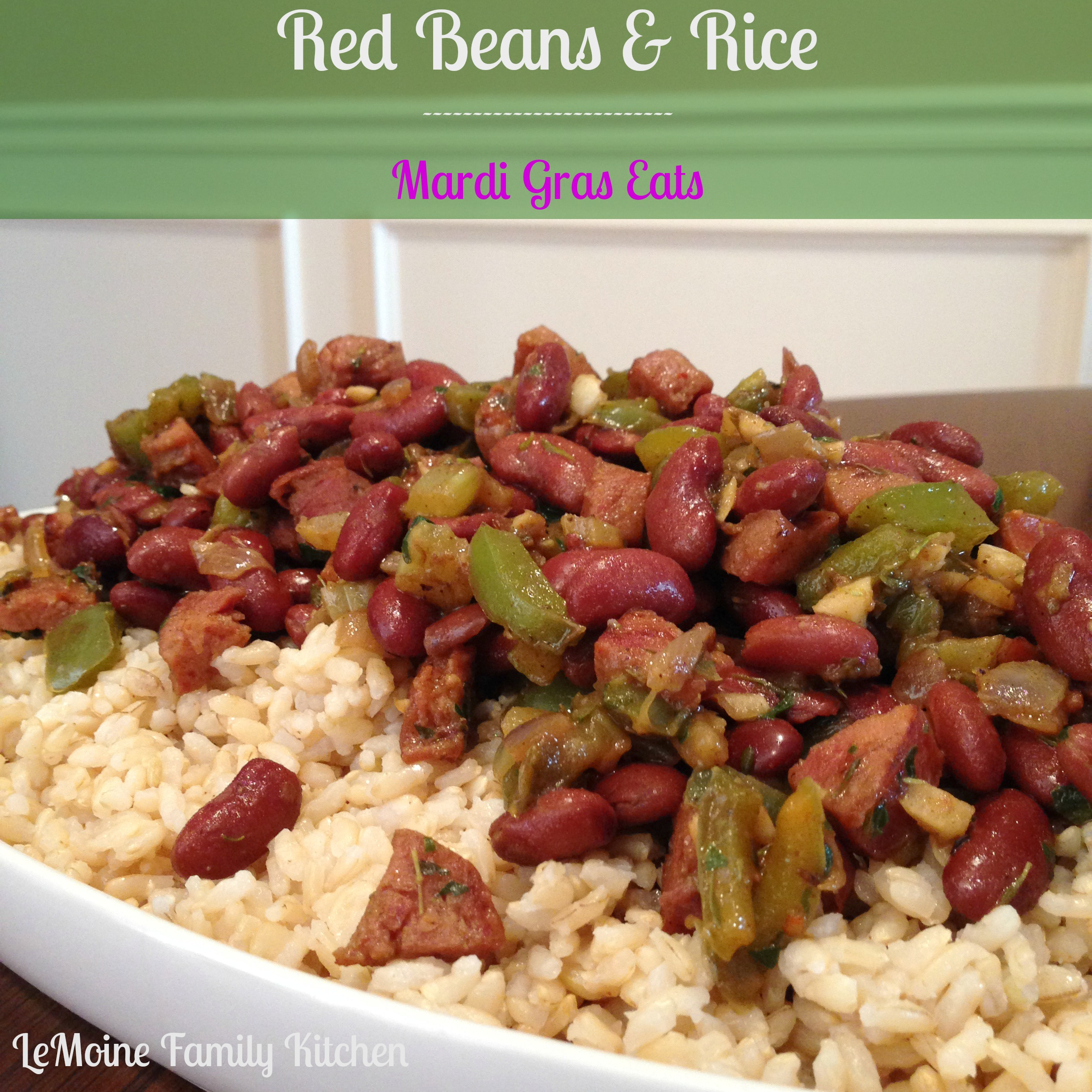 Red Beans and Rice :: Mardi Gras