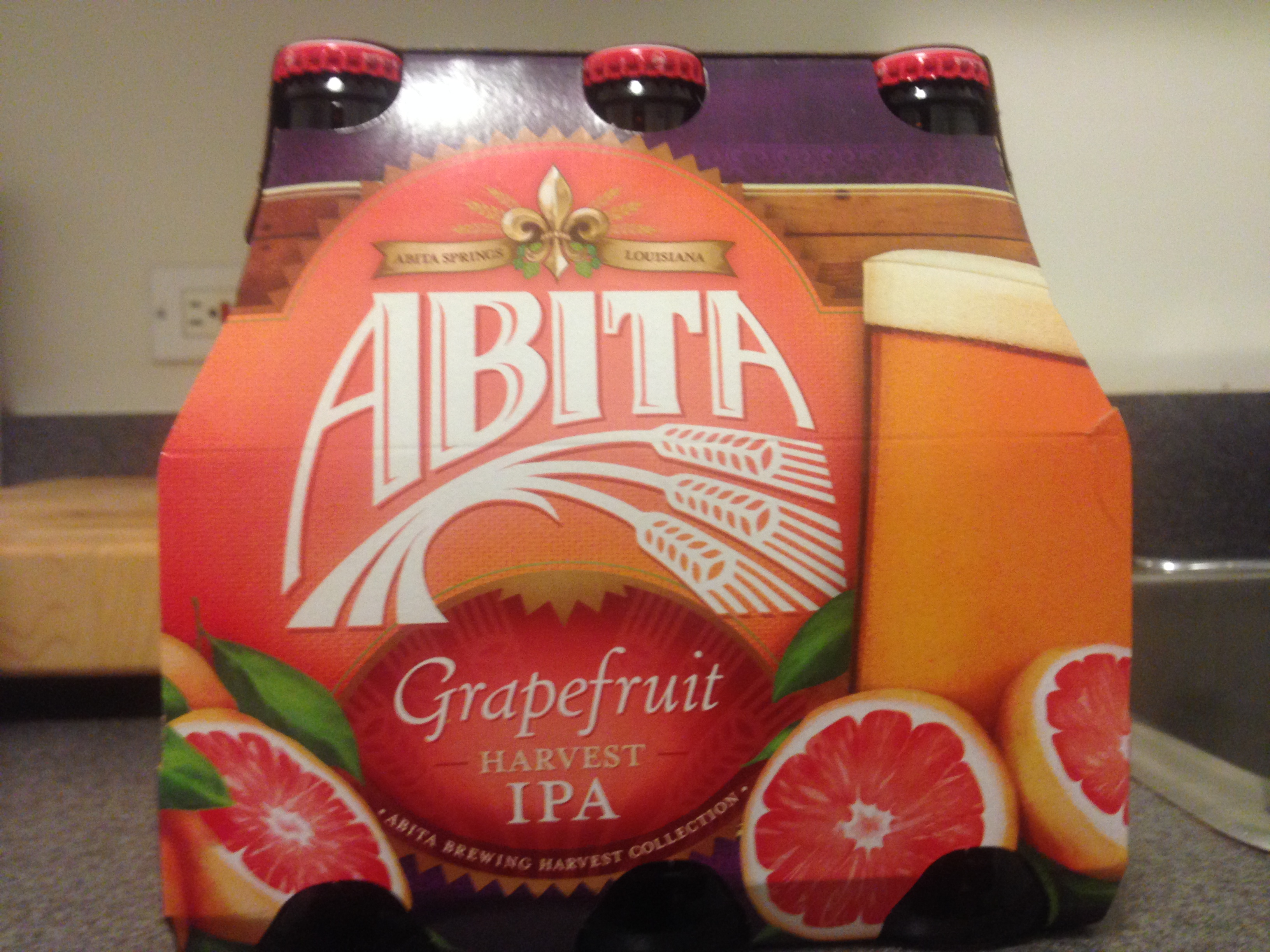 Travel By Beer :: Abita Brewing Company's Grapefruit Harvest IPA