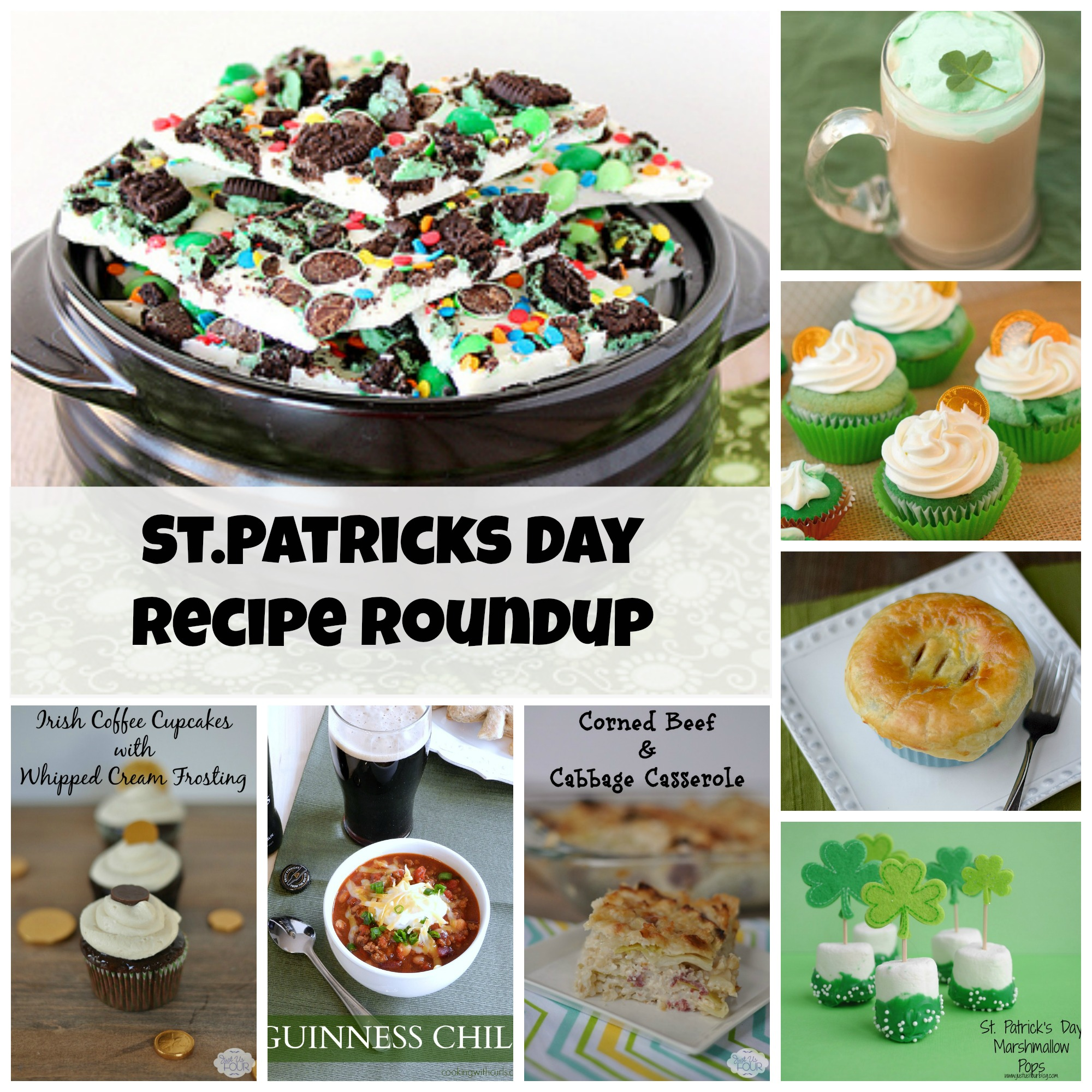 St. Patricks Day Recipe Roundup