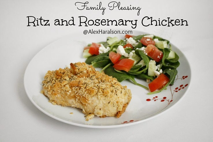 Ritz & Rosemary Chicken