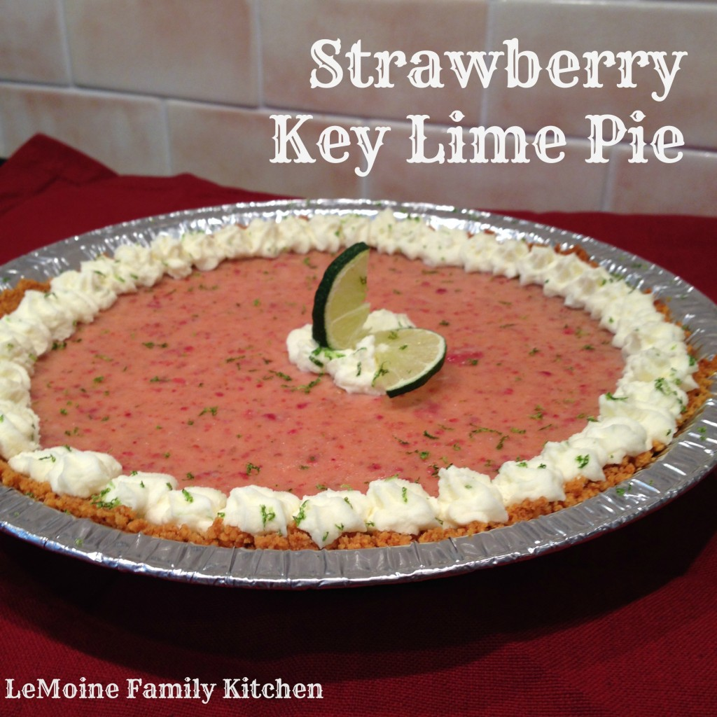 Strawberry Key Lime Pie | LeMoine Family Kitchen