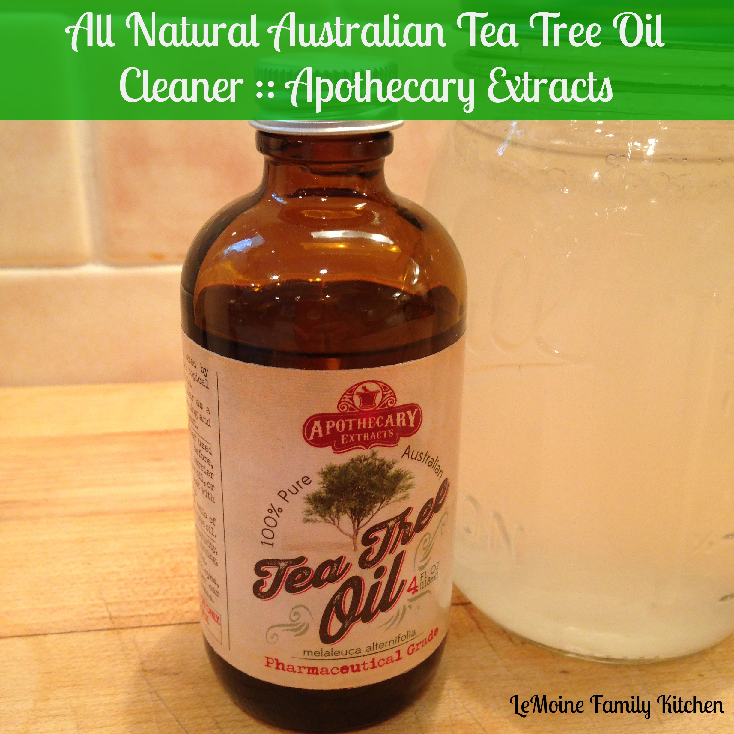 All Natural Australian Tea Tree Oil Cleaner :: Apothecary Extracts