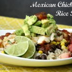 Mexican Chicken & Rice Bowl