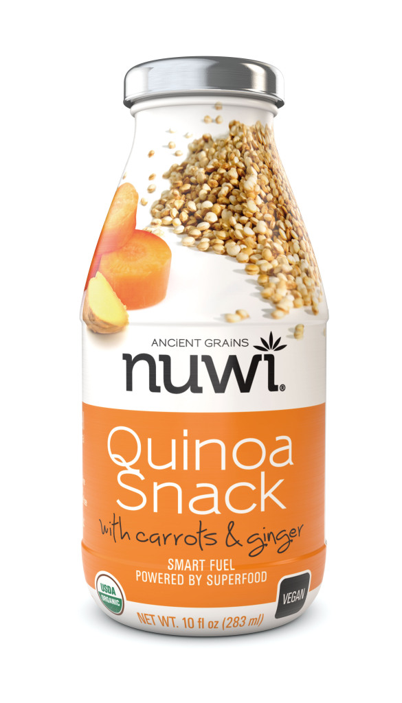 Nuwi Quinoa Snack with Carrots & Ginger | LeMoine Family Kitchen