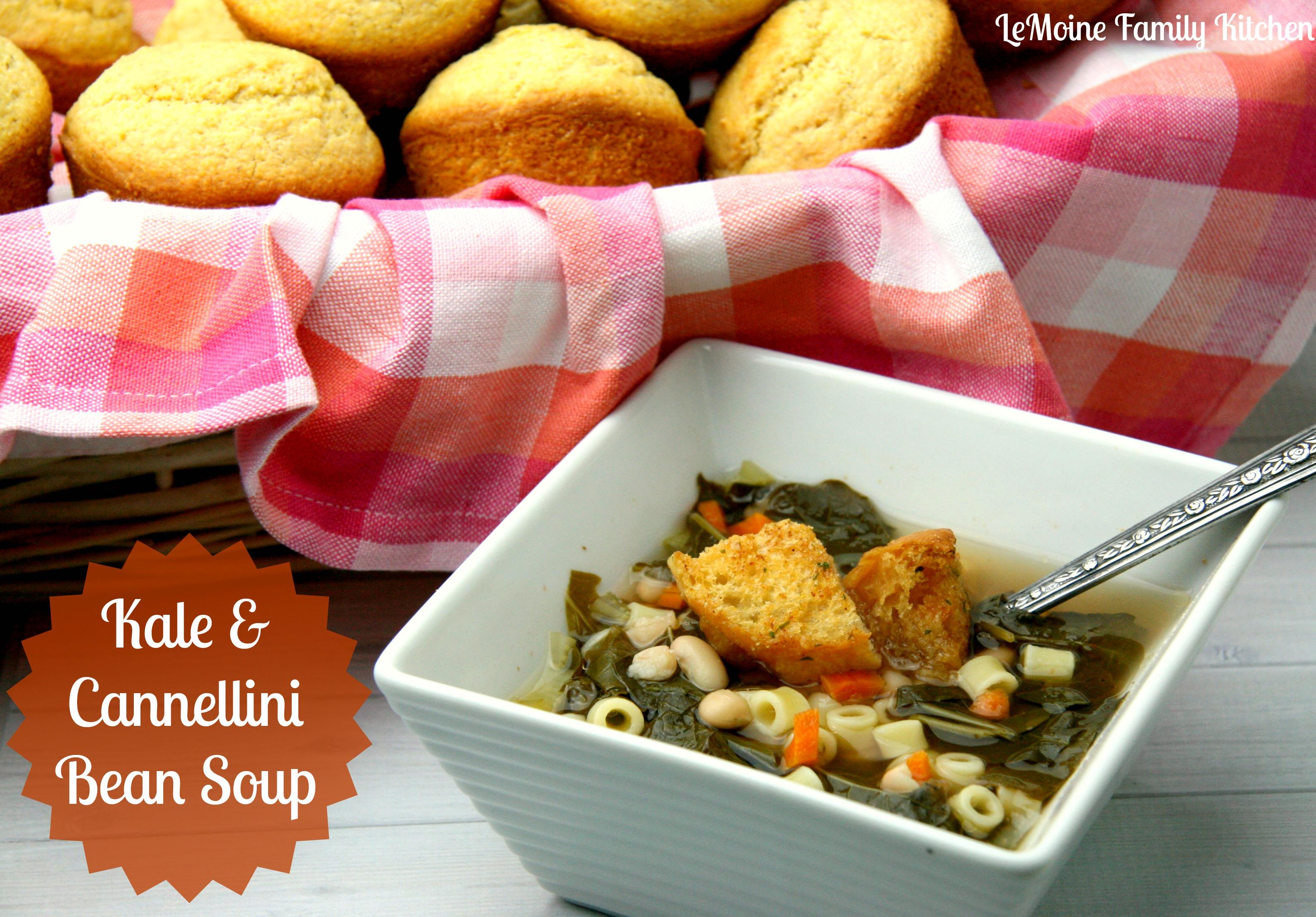 Kale & Cannellini Bean Soup