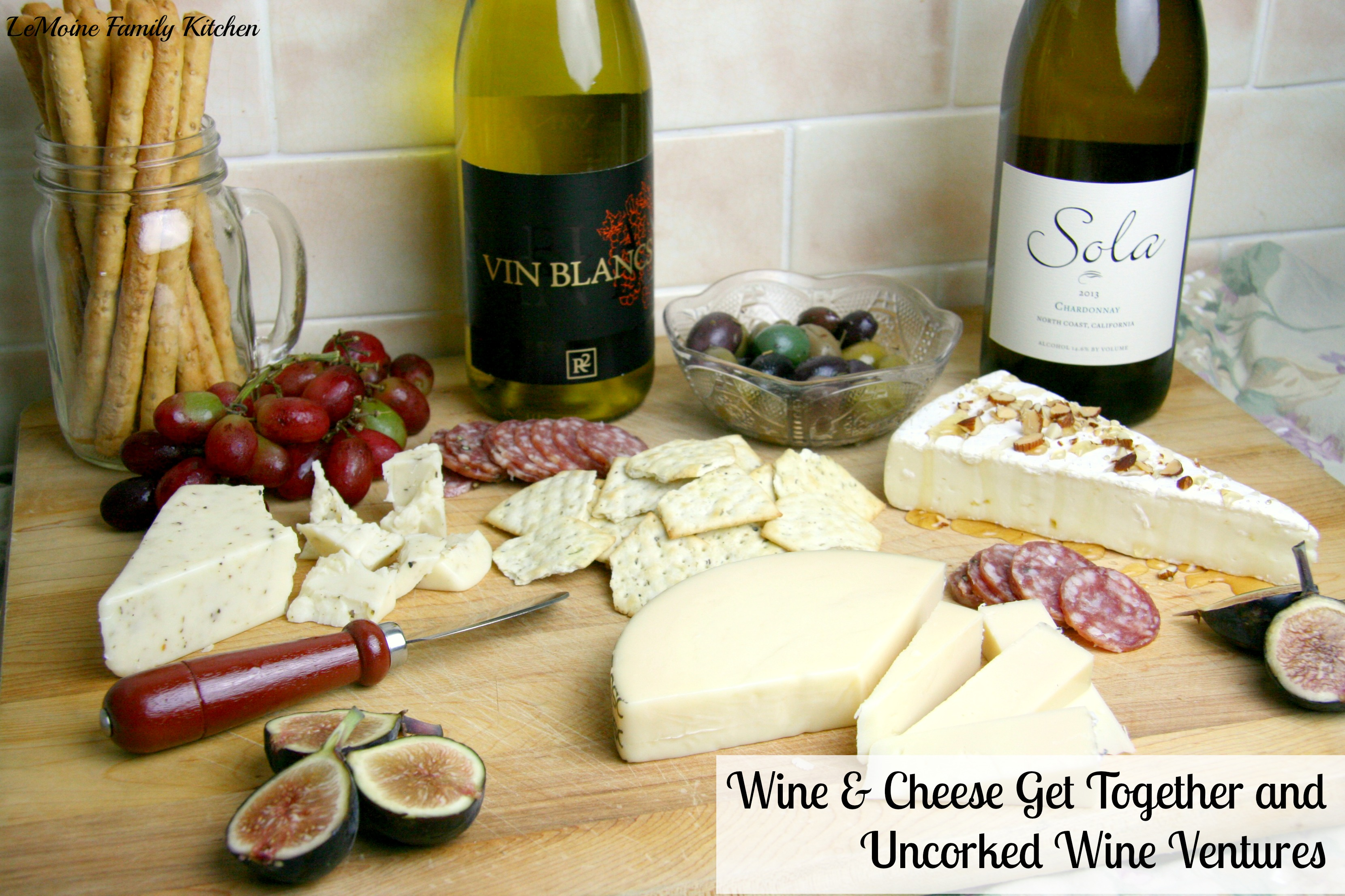 Wine & Cheese Get Together and  Uncorked Wine Ventures