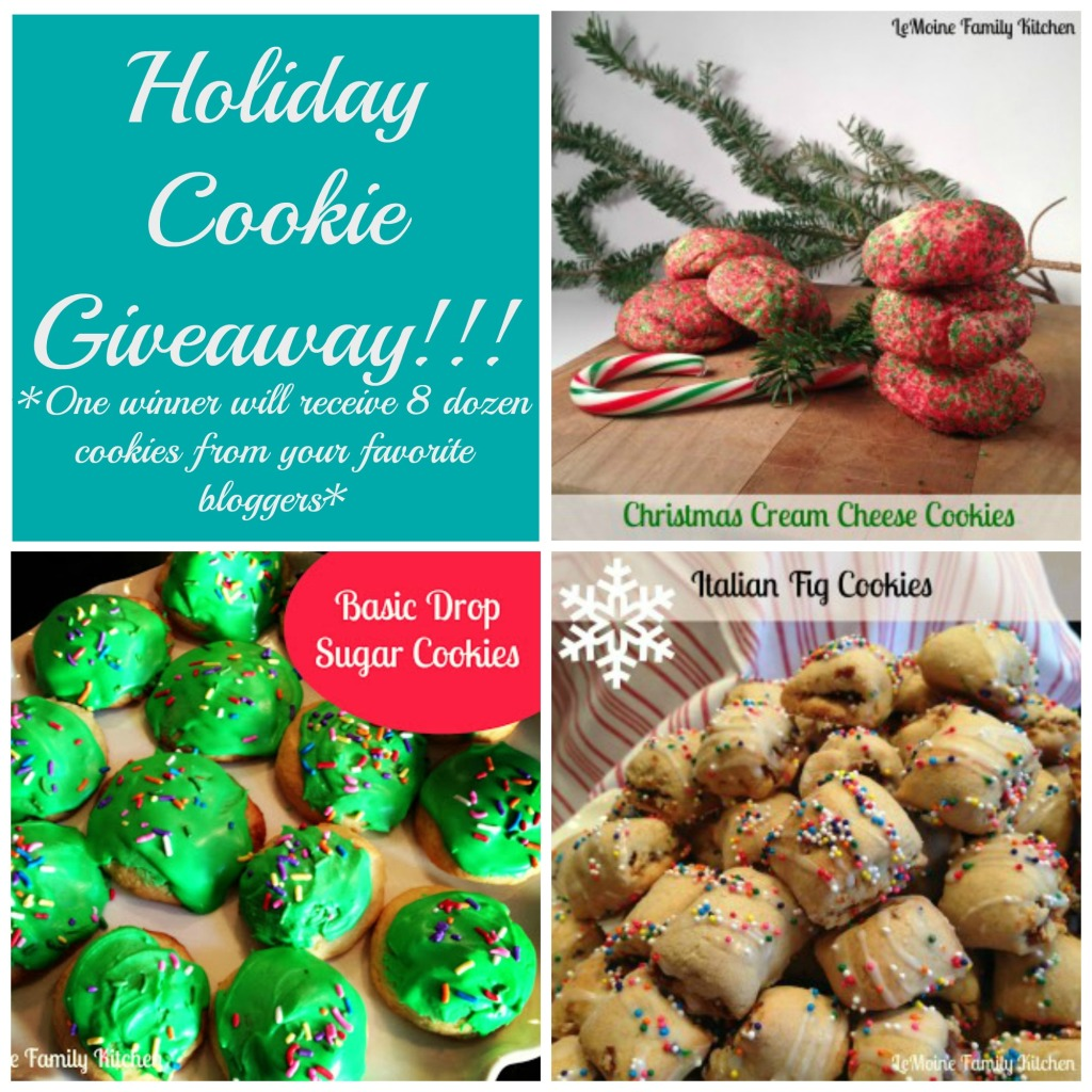 Holiday Cookie Giveaway | LeMoine Family Kitchen #giveaway #cookie #holiday #christmas #baking
