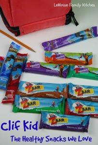 Clif Kid :: The Healthy Snack We Love | LeMoine Family Kitchen #clifbar #clifkid #clif #healthysnack #kidsnack