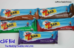 Clif Kid :: The Healthy Snack We Love | LeMoine Family Kitchen #clifbar #clifkid #clif #healthysnack #kidsnack