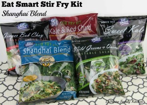 Eat Smart Stir Fry Kit :: Shanghi Blend | LeMoine Family Kitchen #ad #sponsored #stirfry #vegetarian #healthy
