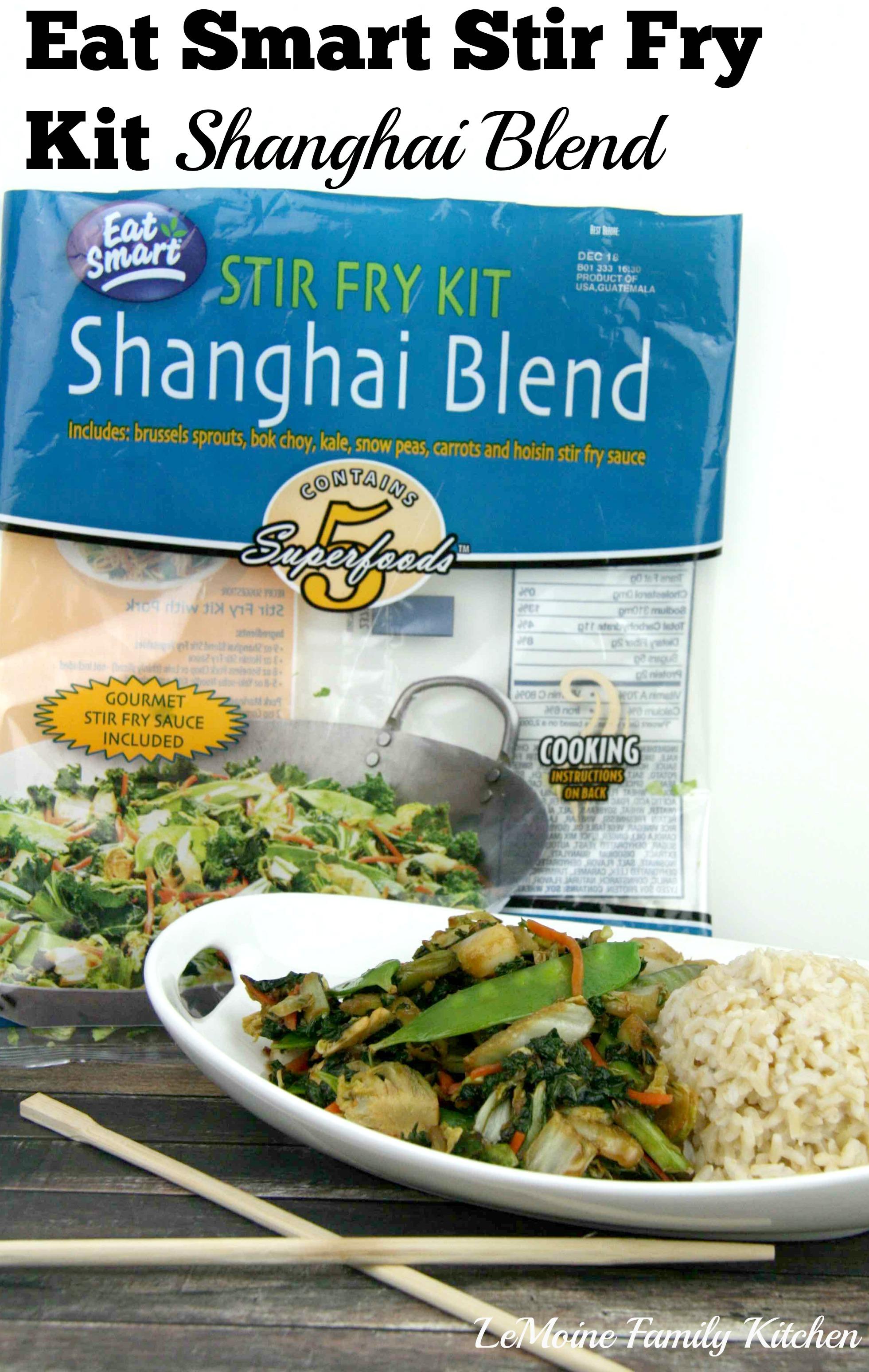 eat smart stir fry kit shanghai blend lemoine family kitchen. Black Bedroom Furniture Sets. Home Design Ideas
