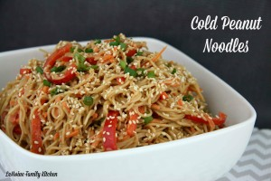 Cold Peanut Noodles   LeMoine Family Kitchen #bestnoodles #peanutnoodles #asian #recipe #easynoodles