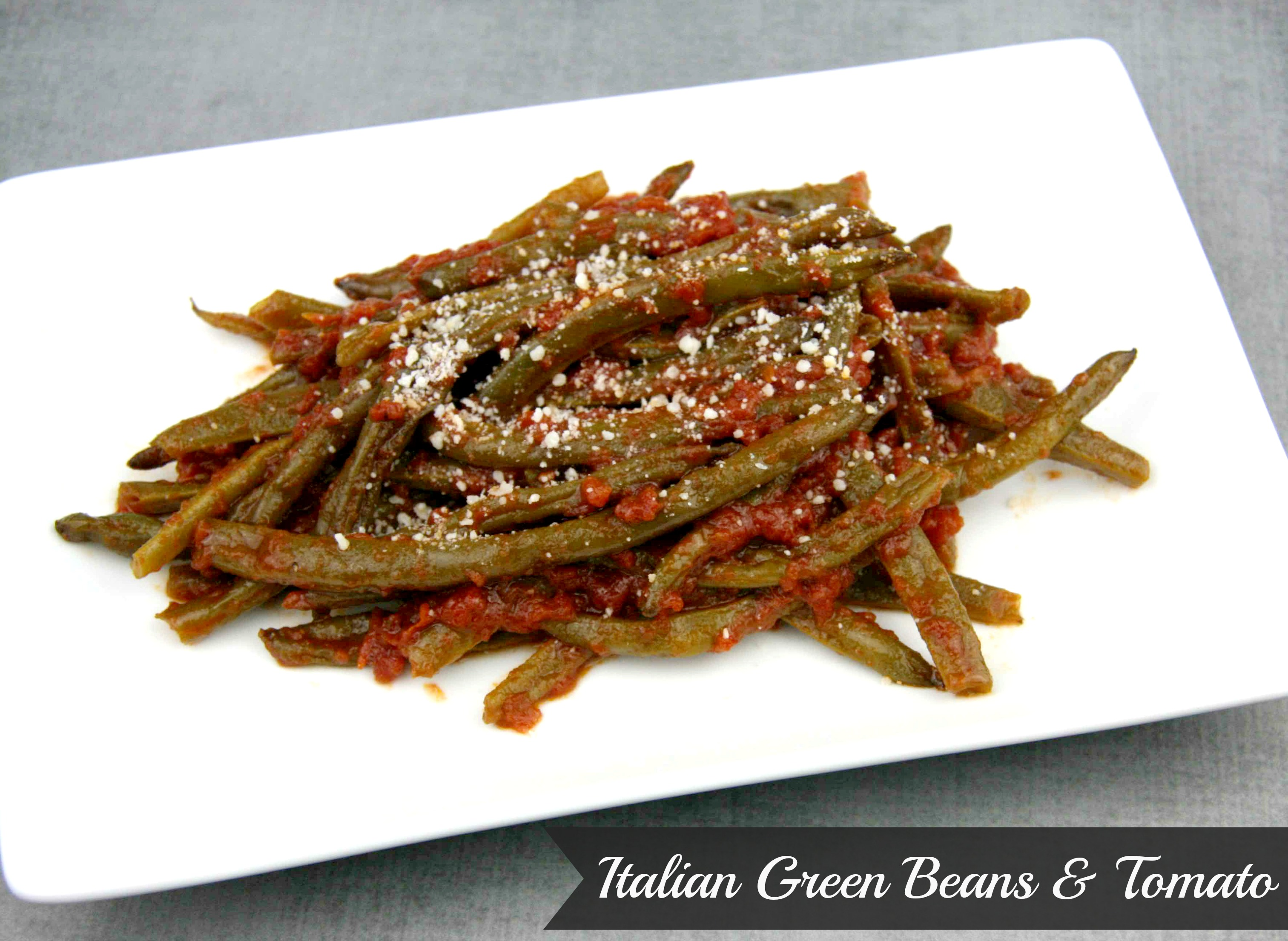 Italian Green Beans with Tomato | LeMoine Family Kitchen #vegetables #greenbean #easy #italian