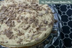 No Bake Peanut Butter Pie   LeMoine Family Kitchen #dessert #easydessert #peanutbutterpie #pie #recipe
