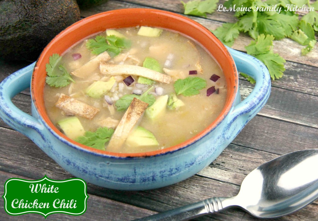 White Chicken Chili | LeMoine Family Kitchen