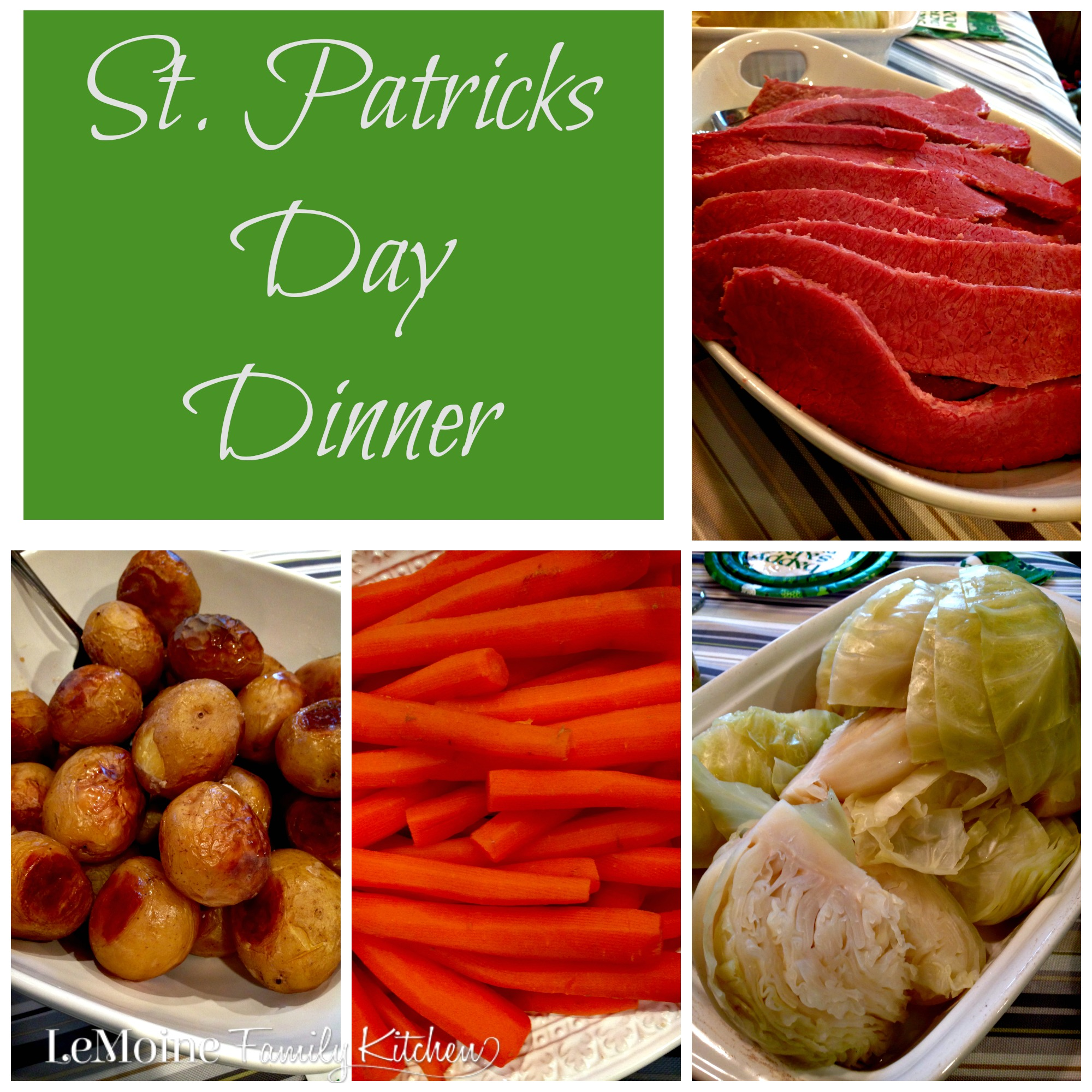St Patricks Day Dinner | LeMoine Family Kitchen . Everything you need to know to prepare a delicious and simple St Patricks Day Dinner!