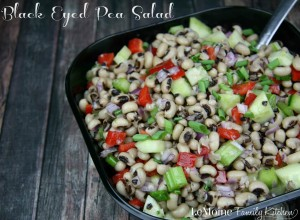 Black Eyed Pea Salad | LeMoine Family Kitchen . Bright colors, incredible flavors, a perfect side dish!