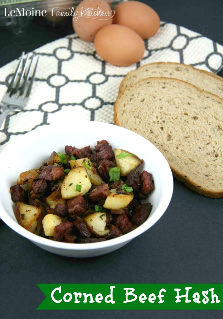 Corned Beef Hash | LeMoine Family Kitchen . Leftover corned beef from ST Patricks Day? Perfect way to transform the corned beef into a perfect hash for breakfast or brunch!