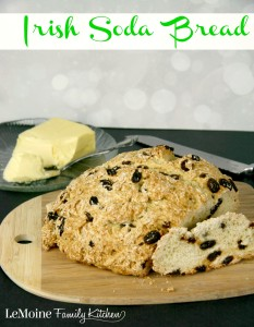 Irish Soda Bread | LeMoine Family Kitchen . Celebrate St Patricks Day with this homemade Irish Soda Bread.
