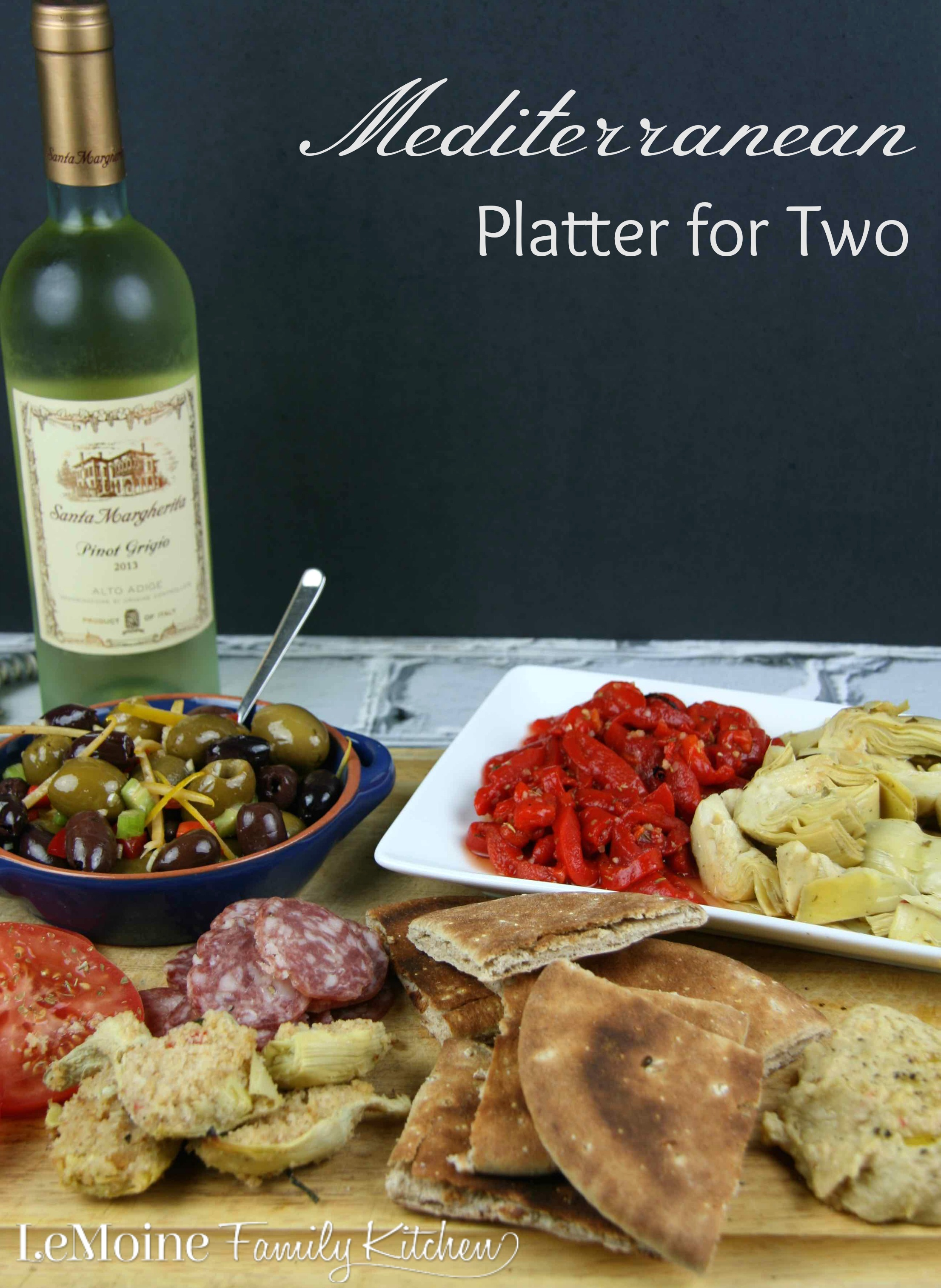 Mediterranean Platter for Two
