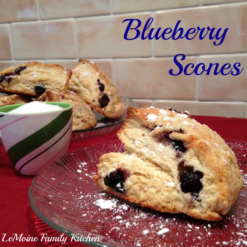 Blueberry Scones | LeMoine Family Kitchen