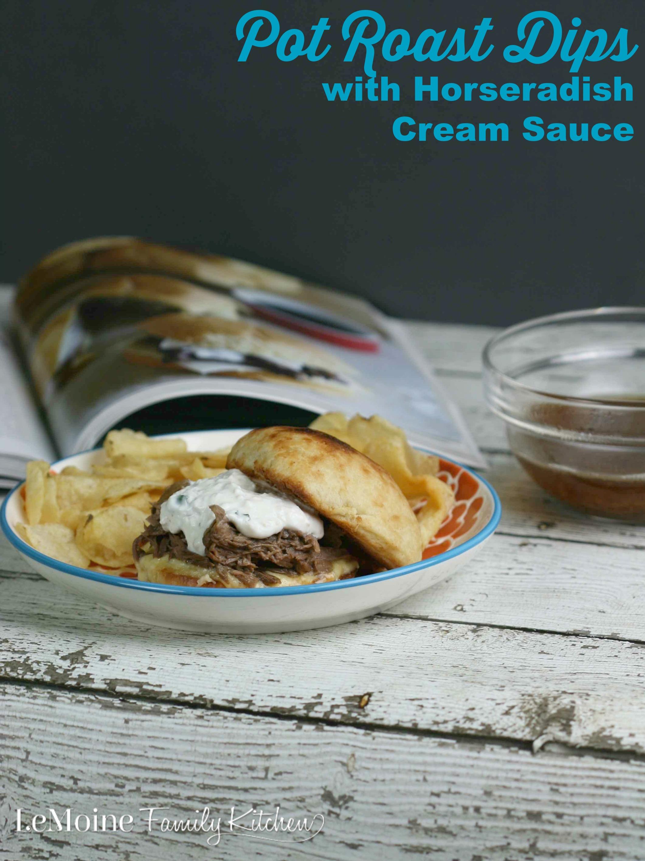 how to make a horseradish cream sauce