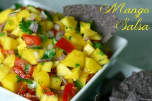 Mango Salsa | LeMoine Family Kitchen. Bright, refreshing salsa with the perfect balance of sweetness and just a hint of spice.