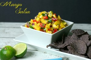 Mango Salsa   LeMoine Family Kitchen. Bright, refreshing salsa with the perfect balance of sweetness and just a hint of spice.