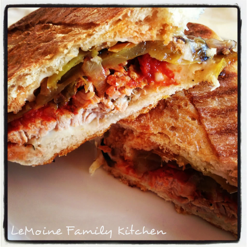 Italian Pork Panini | LeMoine Family Kitchen