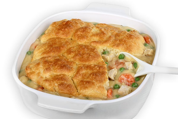 Chicken Pot Pie :: Skinny-fied