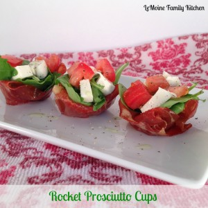 Rocket Prosciutto Cups | LeMoine Family Kitchen