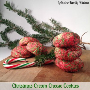 Christmas Cream Cheese Cookies | LeMoine Family Kitchen