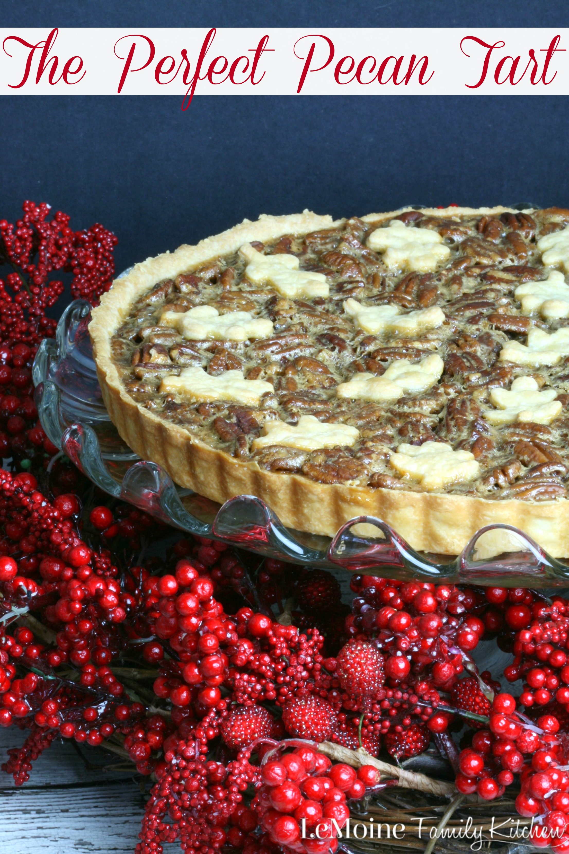 The Perfect Pecan Tart